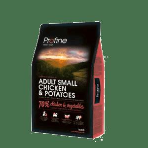 Produkt billede af Profine Adult Small Breed Chicken and Potatoes 10kg