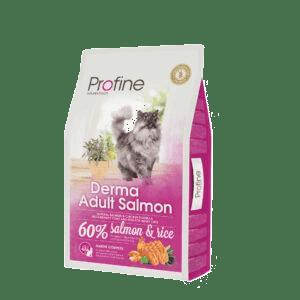 Produkt billede af Profine Cat Derma Adult Salmon 10kg