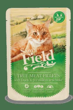 Sams Field Kat True Meat Fillets And Og Jordskok 85g